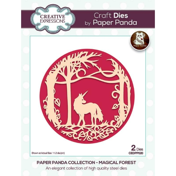 12creative-expressions-paper-panda-magical-forest-die-set
