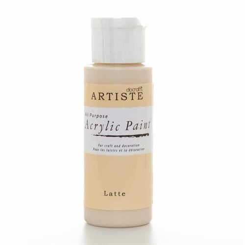 acrylic-paint-latte