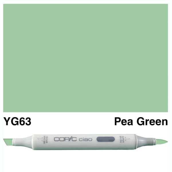 copic-ciao-yg63-pea-green