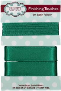 creative-expressions-satin-ribbon-forest-green