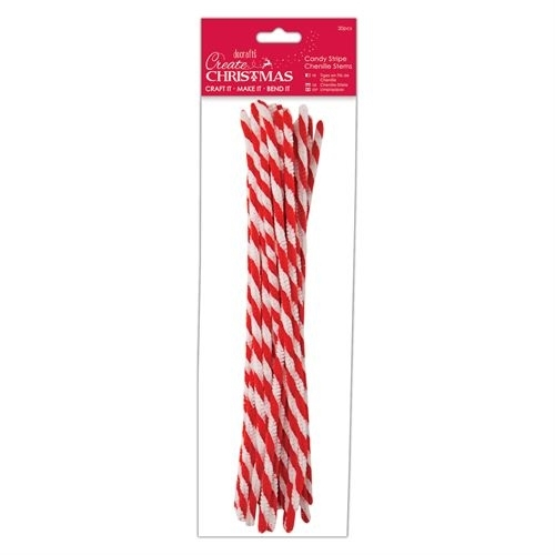 docrafts-create-christmas-candy-stripe-chenille-stems