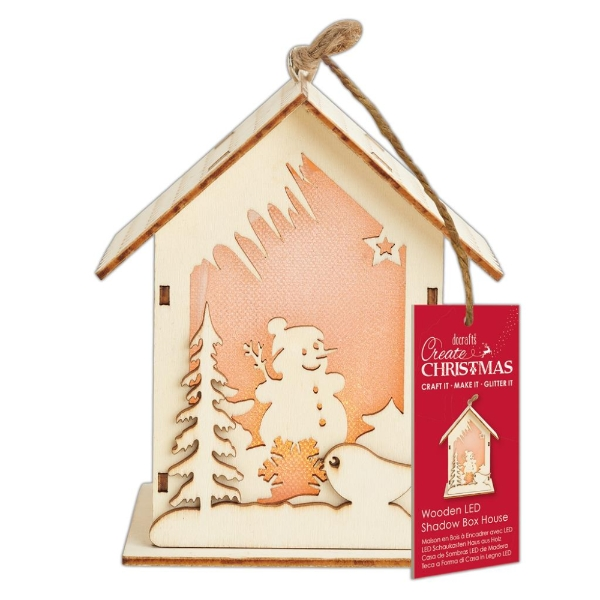 docrafts-wooden-led-shadow-box-house-snowman