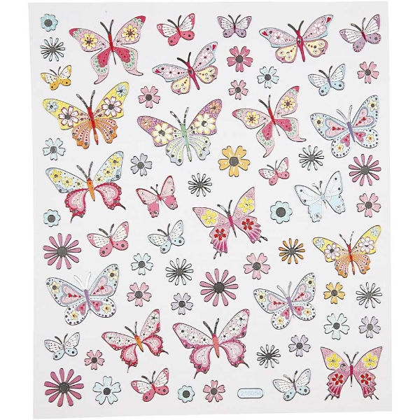 foiled-stickers-butterflies