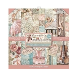 Stamperia Passion 12x12 Paper Pack