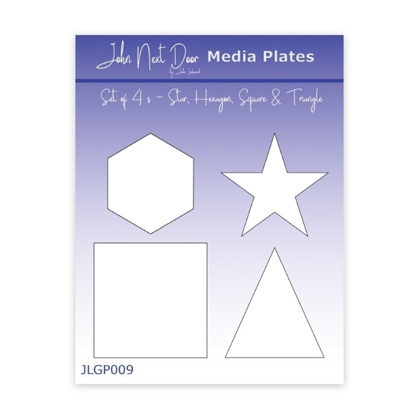john-next-door-media-plates-star-hexagon-square-and-triangle
