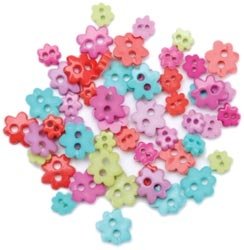 mini-buttons-funky-flowers