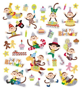 stickers-playful-monkeys