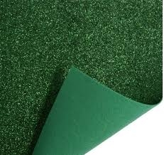 trimits-glitter-felt-fabric-sheet-green-30-x-23cm